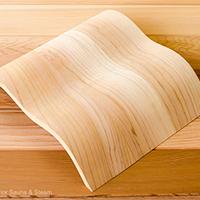 Dřevěné podhlavníky